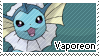 Vaporeon stamp by S-Laughtur