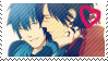 Koujaku x Aoba Stamp by S-Laughtur