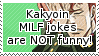 Kakyoin MILF jokes are not funny by S-Laughtur