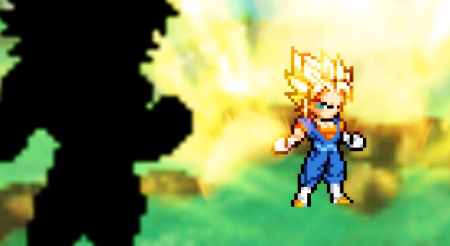 Vegetto VS Broly [ intro ] by domino99designs