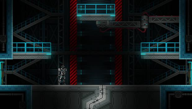 Beyond-Human: Hanger section