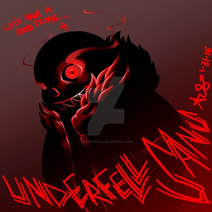 Underfell Sans by AxisOfficial on DeviantArt