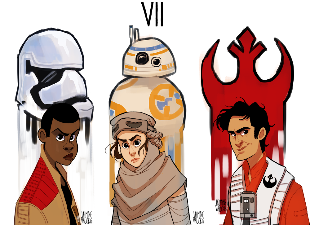 the force awakens by FattCat