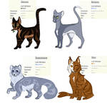 Warrior Cat Adopts CLOSED by chaicacti