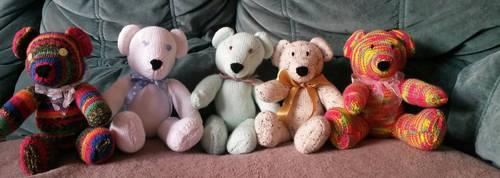 Friendship Bears by LissieBull
