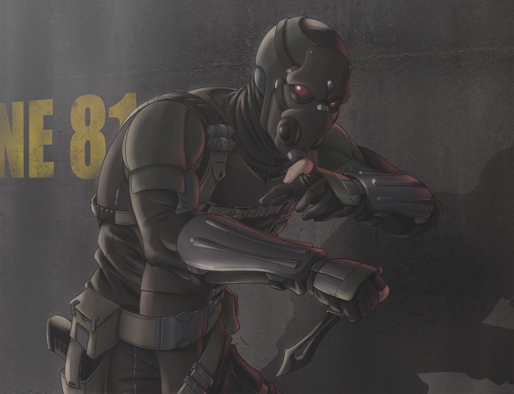 Soldat Furtif by hydriss28