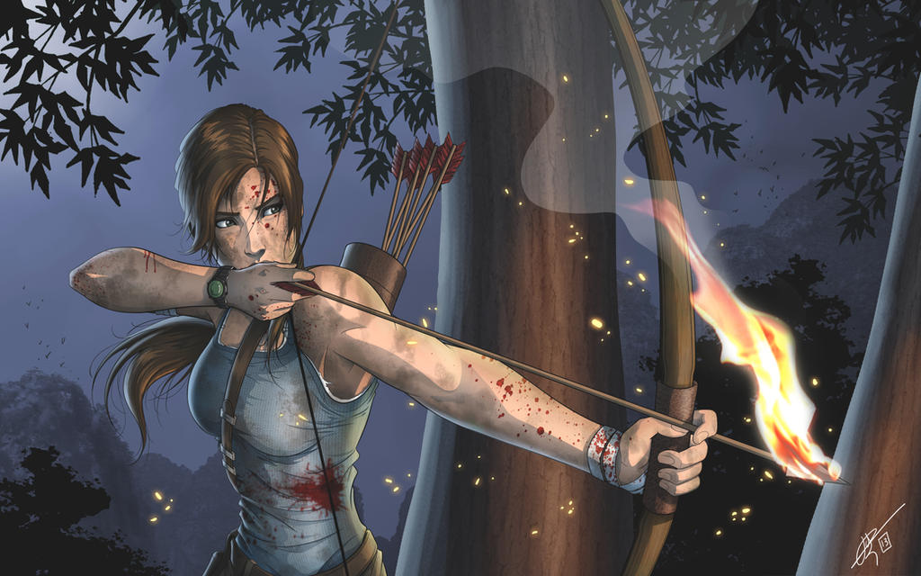 Tomb raider - Lara Croft by hydriss28