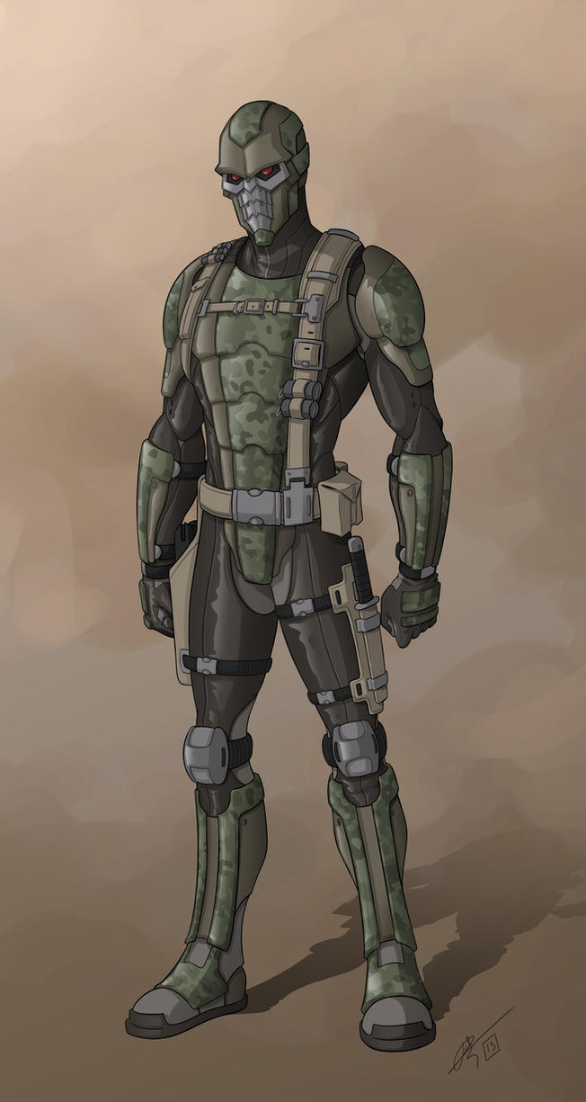 Stealth soldier by hydriss28