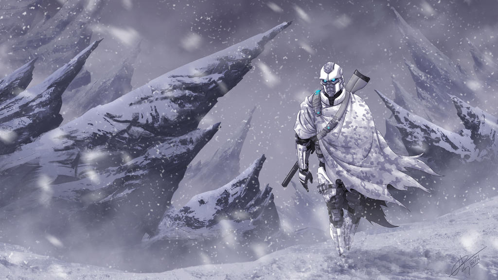 Snow soldier by hydriss28