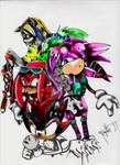 Retro Sonic Image: Colored
