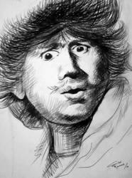 -Rembrandt van Rijn- by resimcisbl