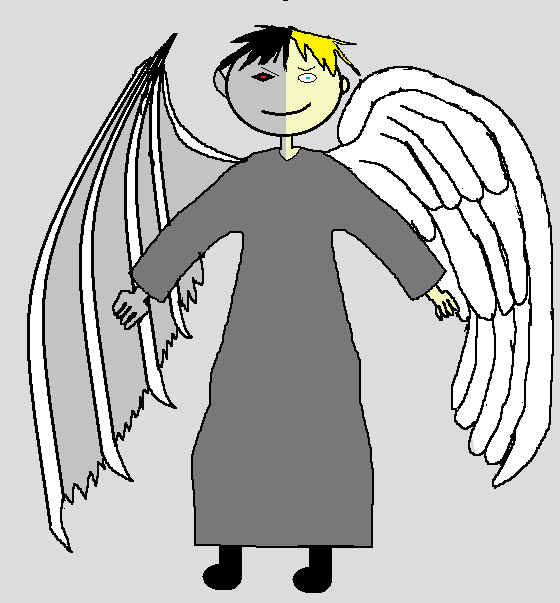 Dante The Demon Angel Adventure Time Oc By Xknight2099