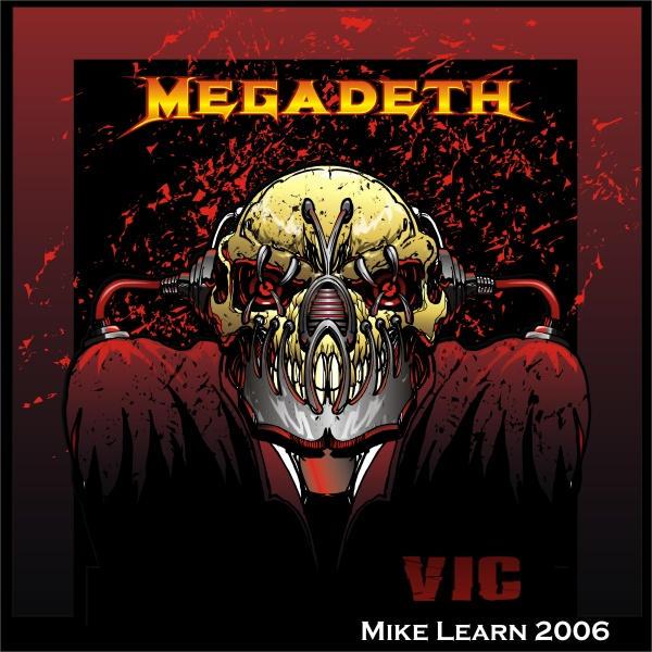 Megadeth Vic Rattlehead Art