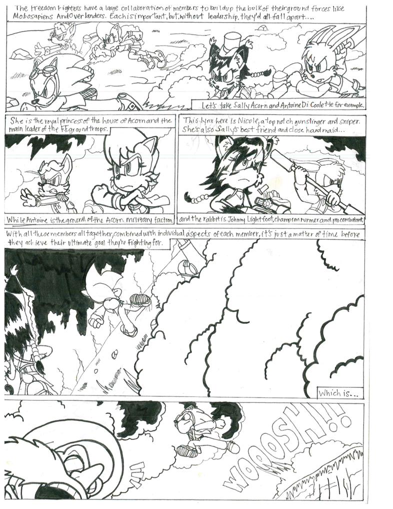 Sonic Steampunk issue 1 page 9 by marioking89