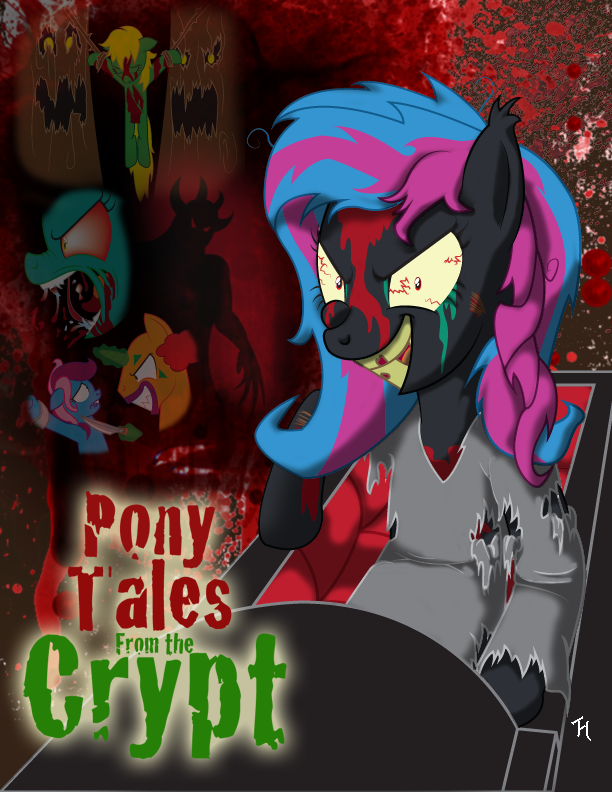 Pony Tales from the Crypt by marioking89