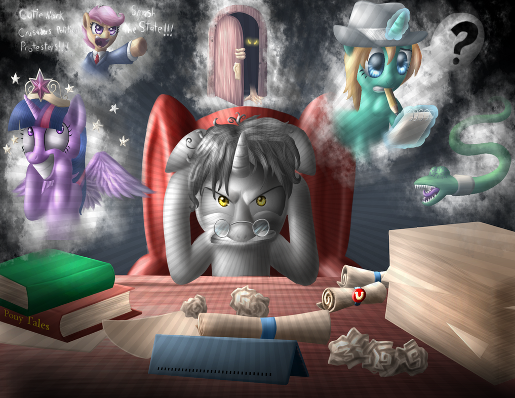 Whom the Princesses Would Destroy by marioking89