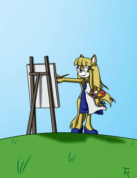 Comm: Painting Time on a Hill