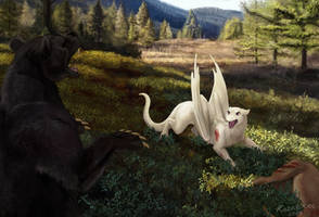 Forest Encounter, patreon reward by KodarDragon