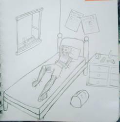 Boring day by ForsakenStrange