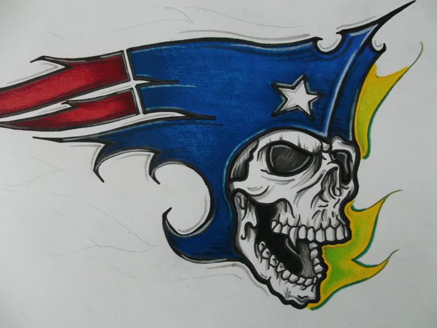 New Patriots Logo By Tinnoka On Deviantart