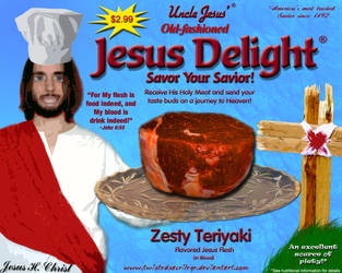 Jesus Delight by TwistedSacrilege