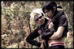 Sai and Naruto