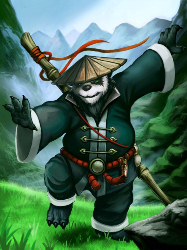 Pandaren Monk by Hidd3nNiN