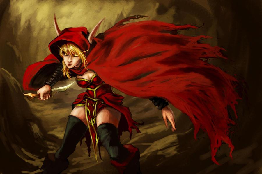 Blood Elf Rogue by Hidd3nNiN