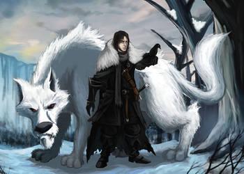 Jon Snow by Hidd3nNiN