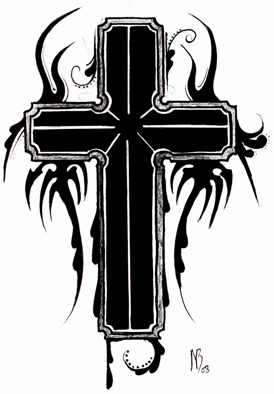 Cross Tattoo Design b