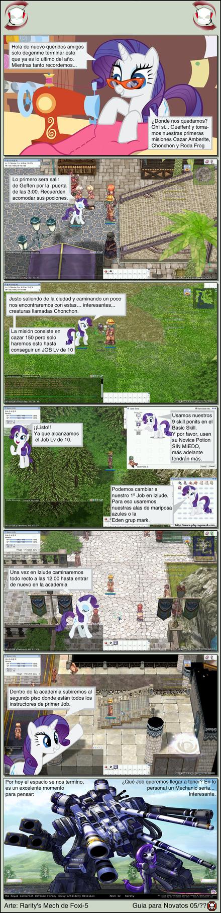 Guia para principiantes en Ragnarock 5 by GranJaguarRojo
