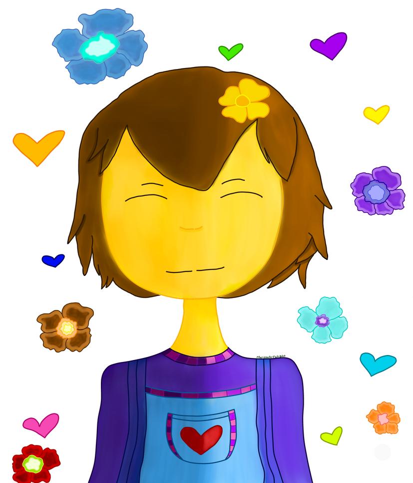 Frisk Doodle by MarissaArt