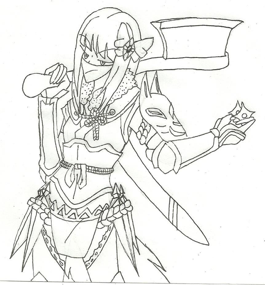 Dread Fighter! Shotoku in Fates by Katfreak