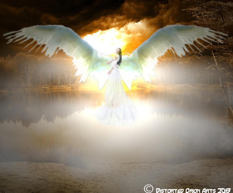 Angelic Maiden by DistortedOrion