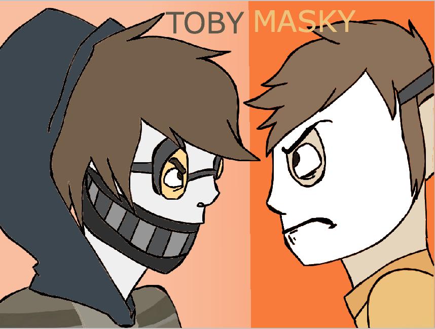 Masky and ticci toby ticci toby x oc base ticci toby x oc base ticci