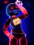 Game Over Toy Chica by ScrappyTrappy