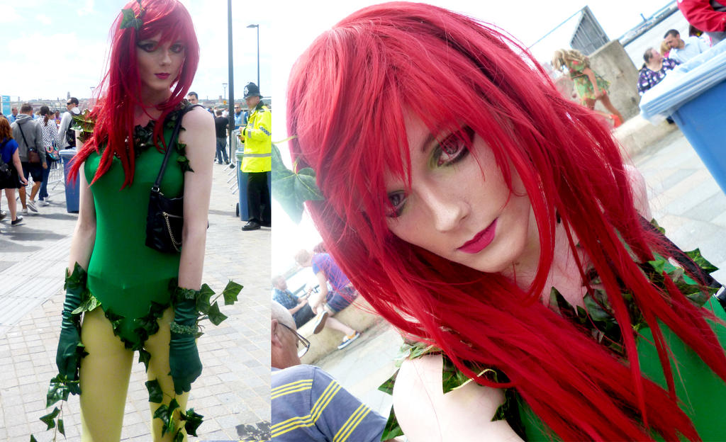 POISON IVY cosplay @ Liverpool Gay Pride 2013 by TrivialJohn
