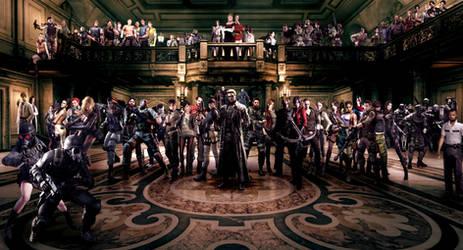Resident Evil Characters Wallpaper
