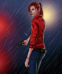 Claire Redfield Resident Evil 2 REmake by AvaCassandra
