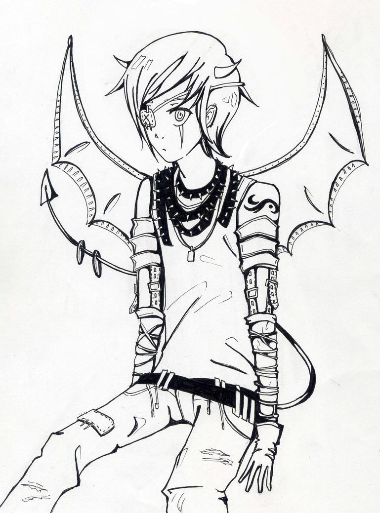 Demon boy by teicak99 on DeviantArt - 178.2KB