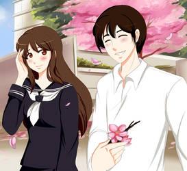 Hana and her Love fanart by KawaiiYusra