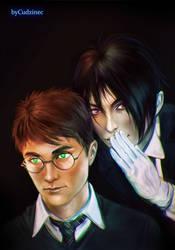 Privy Counselor Slytherin by Cudzinec