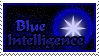 Stamp: Blue Intelligence by nightsfan