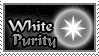 Stamp: White Purity by nightsfan