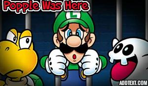 Luigi's In Jail by Kermitthefrog223456