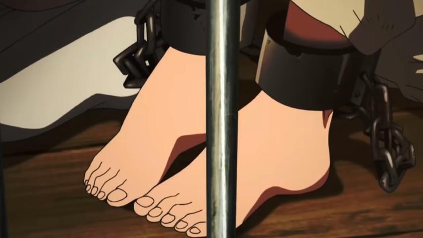 Morgiana's Feet VIII by Kermitthefrog223456