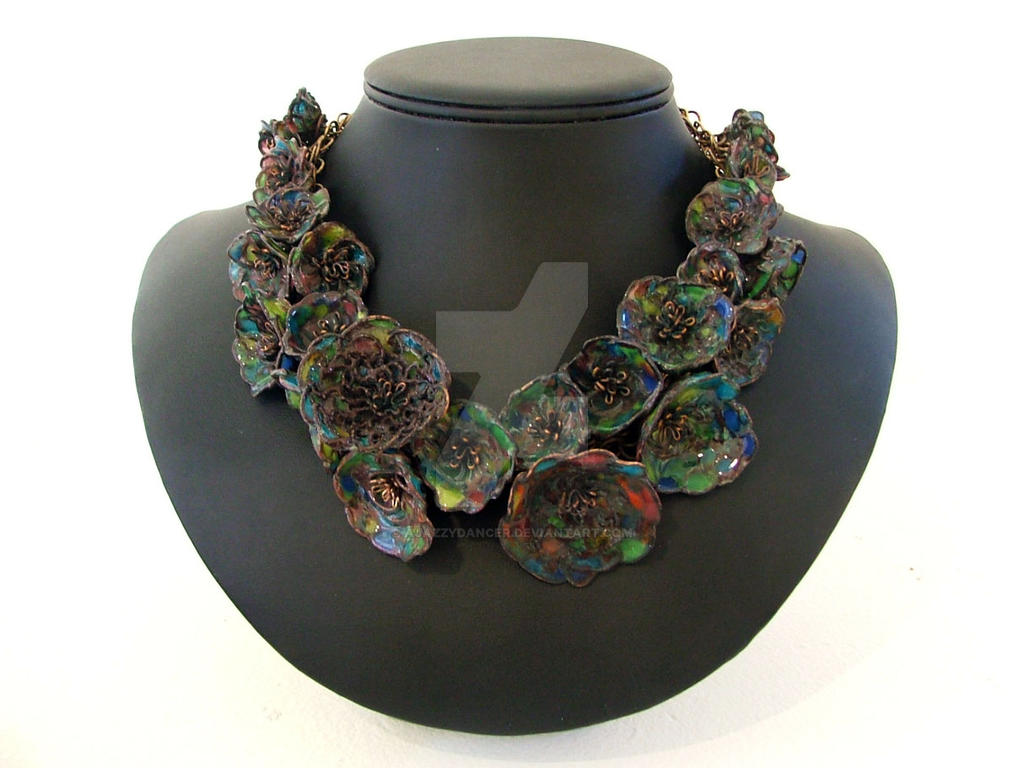Fantasy Enameled Jewels by ajazzydancer