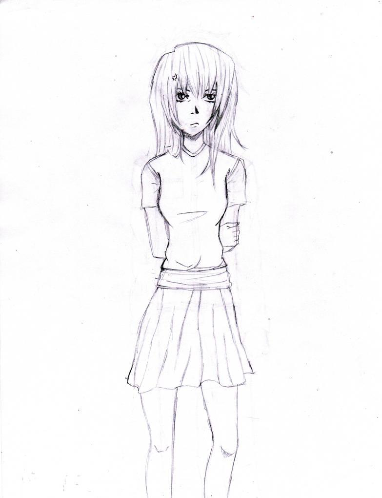 Anime full body girl by jmarcelino143235 on deviantart