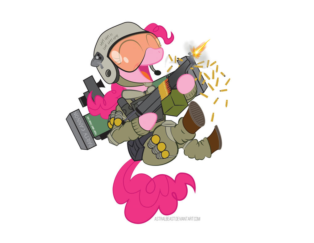 MW3 Pinkie Pie by AstralBeast