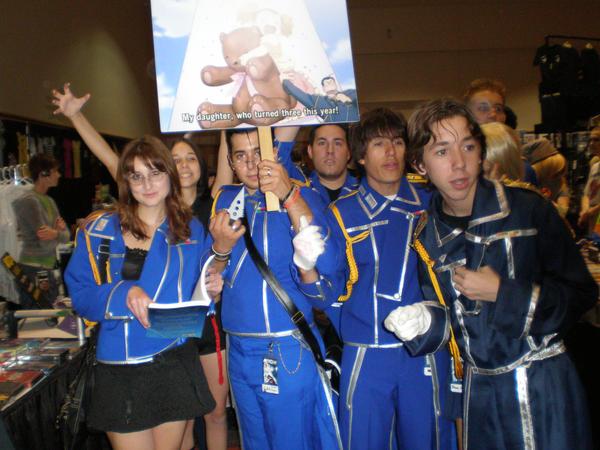 Metrocon '08 : The Military by miniangel09